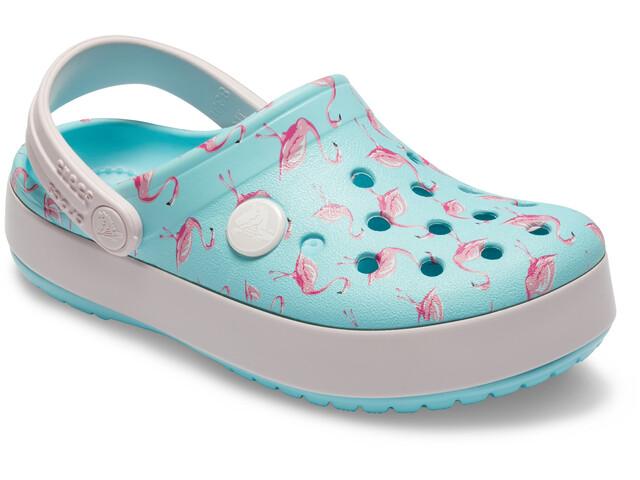 1e067b51414d Crocs Crocband MultiGraphic Sandals Children turquoise at Addnature ...
